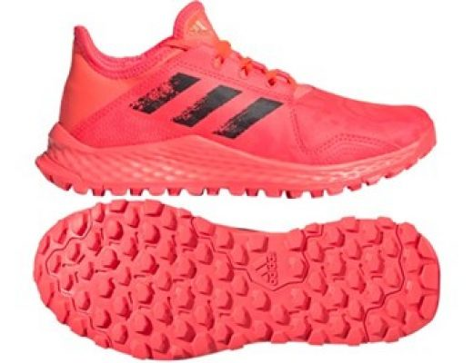 Adidas Youngstar Junior Hockey Shoes (Pink)<br> <span style='color:grey'>RRP: <span style='color:red;text-decoration:line-through'> <span style='color:grey'>£50.00</span>