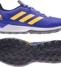 Adidas Zone Dox 2.0 Hockey Shoes (Blue) <br> <span style='color:grey'>RRP: <span style='color:red;text-decoration:line-through'> <span style='color:grey'>£100.00</span>