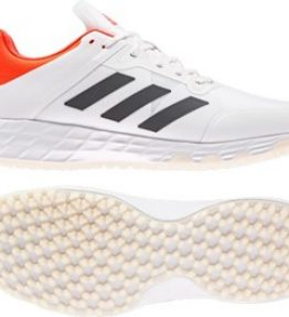 Adidas Lux 2.0 Hockey Shoes (White) <br> <span style='color:grey'>RRP: <span style='color:red;text-decoration:line-through'> <span style='color:grey'>£140.00</span>
